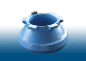 Crusher Spare Parts Manganese Steel Cone Crusher Concave Mantle pictures & photos