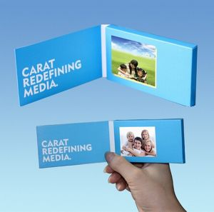 5inch LCD Screen Video Invitation Card pictures & photos
