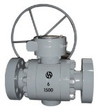 Metal Sealed Ball Valve Go Operation