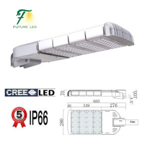Dimmable 120W CREE or Bridgelux LED Street Light
