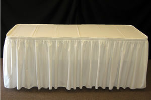 Table Cloth Cover, Table Skirt