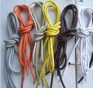 Custom Cotton Waxed Shoelaces for Shoelace