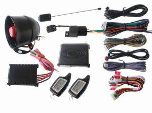 Car Alarm System with 3D Shock Sensor (CM-2300)