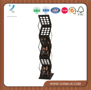 Book Retail Stores Metal Book Displays Stands Display Racks pictures & photos