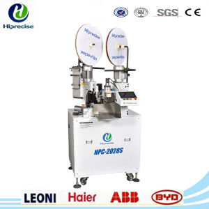 High Precision Thin Electrical Wire Terminal Crimping Tinning Machine