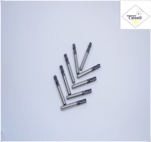 Cutoutil   4 Teeth 35° Helix Cut Steel D20 50*100*20  Solid Carbide End Mills Tools pictures & photos