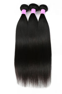 Peruvian Hair Straight Human Hair Extension 100% Virgin Human Hair pictures & photos