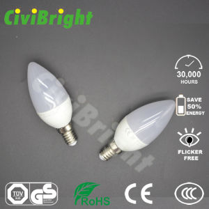 SMD 6W E14 with Ce RoHS LED Candle Lamp pictures & photos