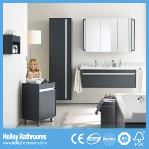 Top Grade Modern Bathroom Units with Mobile Cabinet and Mirror Vanity (BF388D)