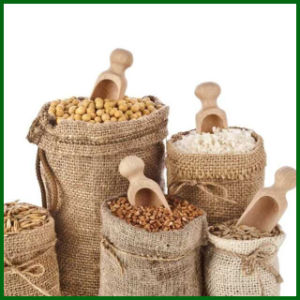 Eco-Friendly Drawstring Nuts Jute Bag Foe Food Packing