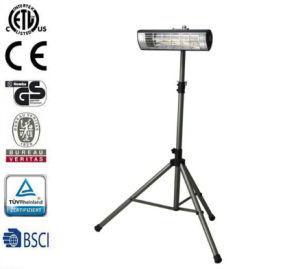 Infrared Indoor/Outdoor Patio Heater, Black with ETL Certified Remote Control pictures & photos
