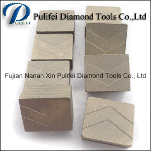 Diamond Marble Segment for Hard Stone Cutting Saw Blade