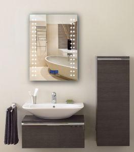 Led Lighted Bluetooth Digital Clock Radio Functional Bathroom Smart Mirror