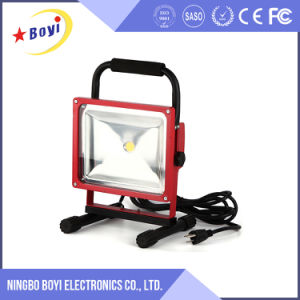 30W Portable Rechargeable Blue Point LED Work Light pictures & photos