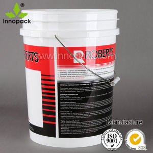 HDPE 20L America Style Coloured Plastic Bucket for Chemical, Paint pictures & photos