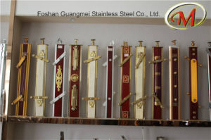 Titanium Material Steel Railing Pillars (GM-504 / GM-505) pictures & photos