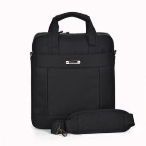 High Quality Polyester Vertical Laptop Briefcase Bag pictures & photos
