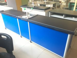 Lab Experiment Bench Desk Laboratory Furniture Equipment pictures & photos