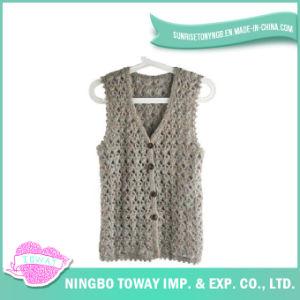 Hand Fashion Weaving Tops Ladies Crochet Knitting Vest-08