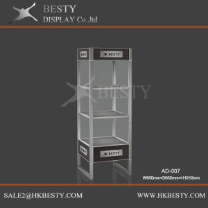 LED Tower Display Showcase for Jewelry Watch Shop