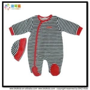 OEM Service Baby Apparel Stripe printing Infants Suit pictures & photos