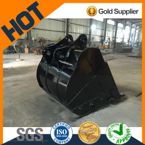 China Made Standard Size 1.58m3 Volume Rock Loader Bucket for 30t Sany 365 Excavator