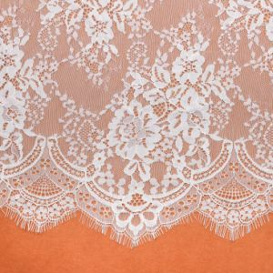 Fashion Beautiful Eco-Friendly White Knitted Lace pictures & photos