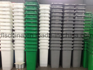 Plastic Refuse Bin 240L for Outdoor Use with Virgin New HDPE Material pictures & photos