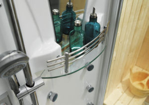 Newest Model Steam Shower Combination with Sauna Room (M-8218R/L) pictures & photos
