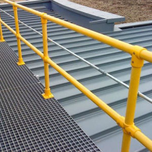 Fiberglass Pultruded Grating, FRP/GRP Handrail pictures & photos