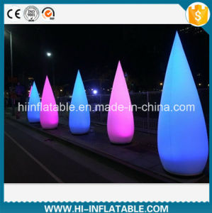 Florid Event / New Year Decoration Inflatable Wick Tubes with LED Light for Sale