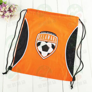Customer Printed Polyester Waterproof Backpack Drawstring Bag M. Y. D-007