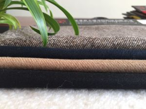 Flano Wool Fabric with Twill