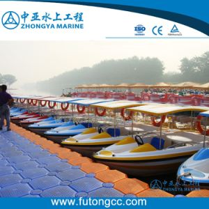 China Floating Dock for Mooring BBQ Donut Boat - China Floating Dock ...