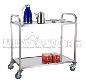 Multiple Stainless Steel Platform Trolley pictures & photos
