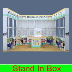Lightweight Indoor Portable Exhibition Booth Display pictures & photos