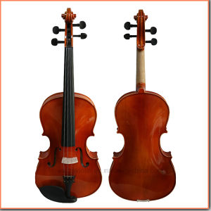 Shine Red Brown Color Solid Wood Viola pictures & photos