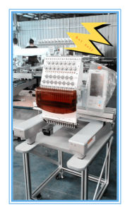 Single Head Tubular Embroidery Machine for Home, Shop Use