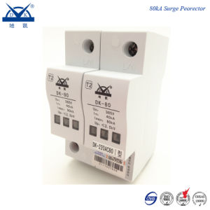 DIN Rail Single Phase 220V Power Lightning Protection Device pictures & photos