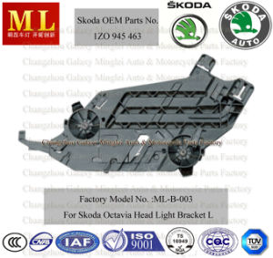 Black Headlight Base, Bracket, , Support, Cover for Skoda Octavia (OEM Parts No.: 1Z0 941 463) pictures & photos