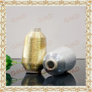 Mx Type Golden Silver Metallic Yarn for Sewing