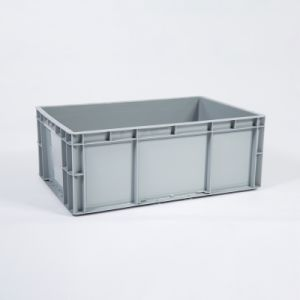 EU4622 Euro Container Industry Storage Plastic Pallet Box For EU Pallets