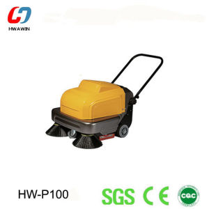 Small Hand-Push Electric Road Sweeper, Cleaning Machine pictures & photos