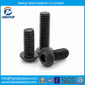 Black Oxide Carbon Steel Hex Socket Pan Head Machine Screw pictures & photos