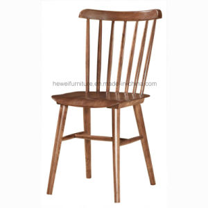 Modern Solid Wood Dining Chair for Restaurant Cafe (HW-018C)