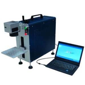 10W 20W 30W Portable Fiber Laser Marking Machine pictures & photos