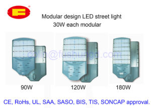 Eco-Friendly LED Street Light with CE RoHS UL SAA Approval