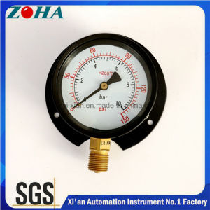 China double scale 0 10 bar 0 150psi back flange air pressure gauges double scale 0 10 bar 0 150psi back flange air pressure gauges with black publicscrutiny Image collections