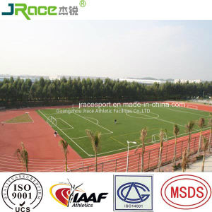 China Factory of Rubber Track and Field Material Athletic Track Surface for Stadium pictures & photos