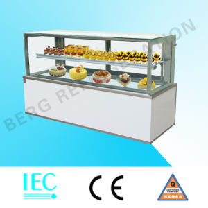 Vertical Cake Showcase Refrigerator with High Quality pictures & photos